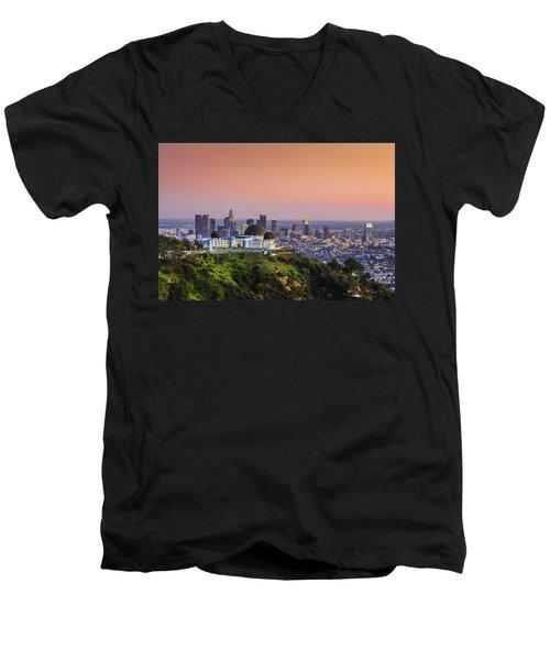 Beauty On The Hill Men's V-Neck T-Shirt