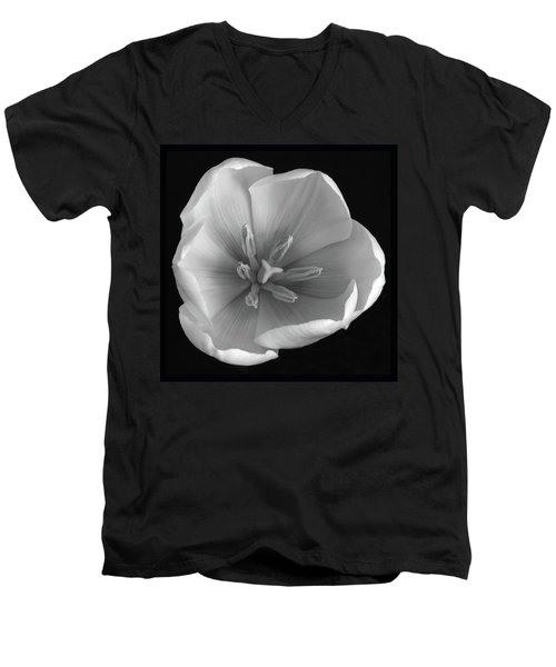 Men's V-Neck T-Shirt featuring the photograph Beauty Within by Terence Davis