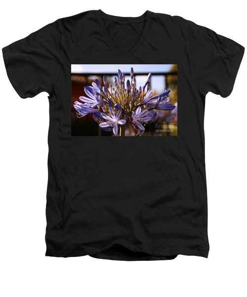 Becoming Beautiful Men's V-Neck T-Shirt by Linda Shafer