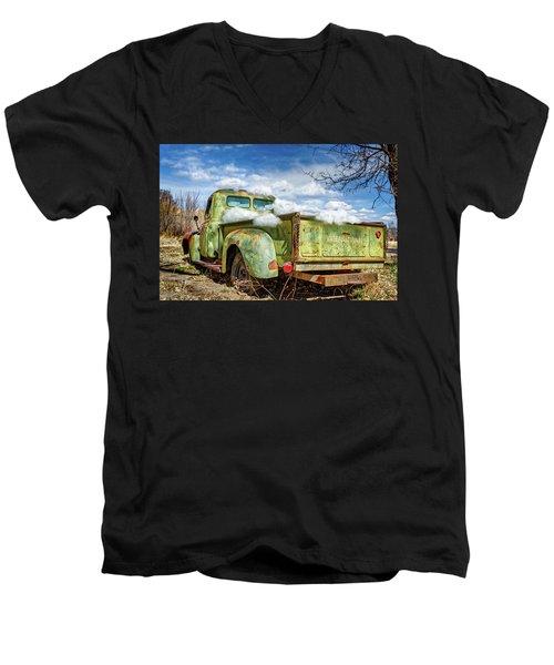 Bed Full Of Clouds Men's V-Neck T-Shirt