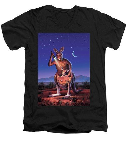 Bedtime For Joey Men's V-Neck T-Shirt