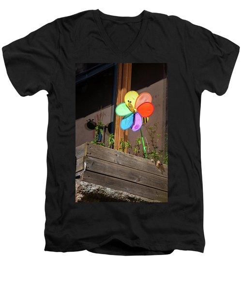 Bee A Wind Spinner? Men's V-Neck T-Shirt