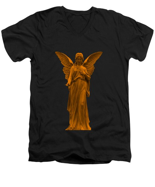 Behold I Send An Angel Before Thee Men's V-Neck T-Shirt