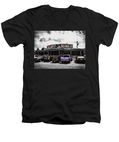 Bel-loc Diner Men's V-Neck T-Shirt