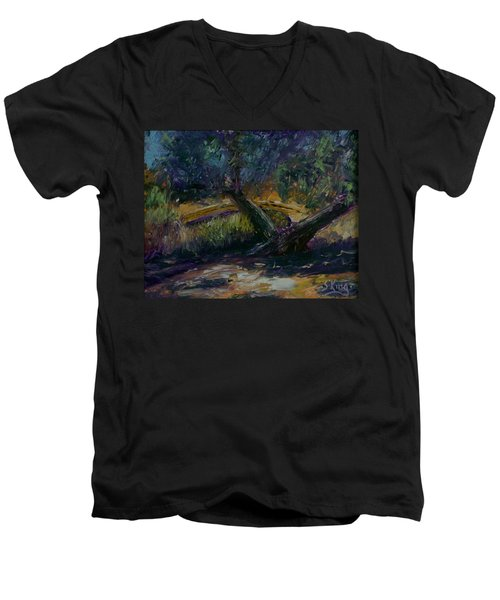 Bent Tree Men's V-Neck T-Shirt