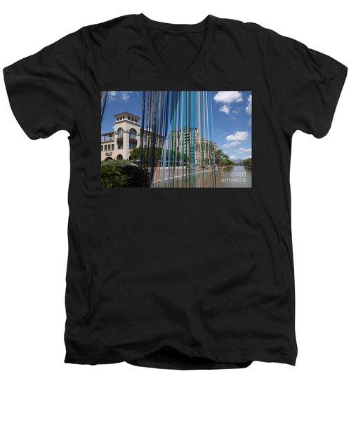 Scottsdale Celebrates In Colour Men's V-Neck T-Shirt