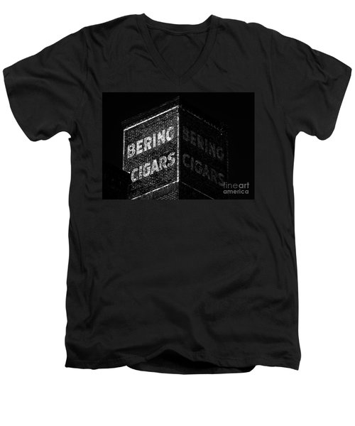 Bering Cigar Factory Men's V-Neck T-Shirt