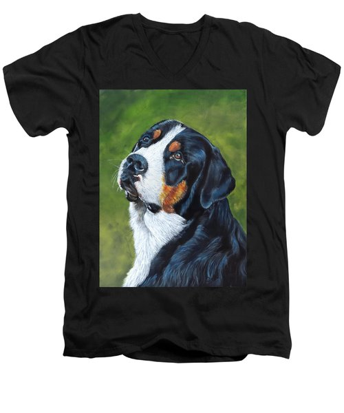 Bernie Men's V-Neck T-Shirt