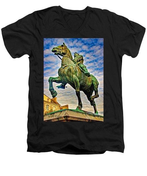 Bertrand Du Guesclin Men's V-Neck T-Shirt
