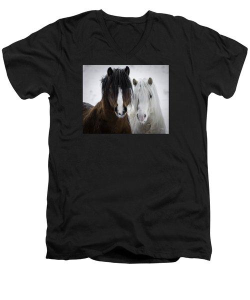 Best Friends II Men's V-Neck T-Shirt