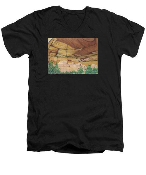 Betatakin Cliffdwellers Men's V-Neck T-Shirt