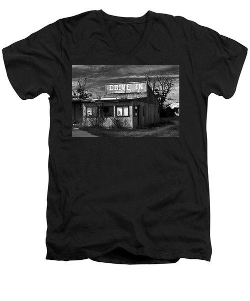 Better Days - An Old Drive-in Men's V-Neck T-Shirt