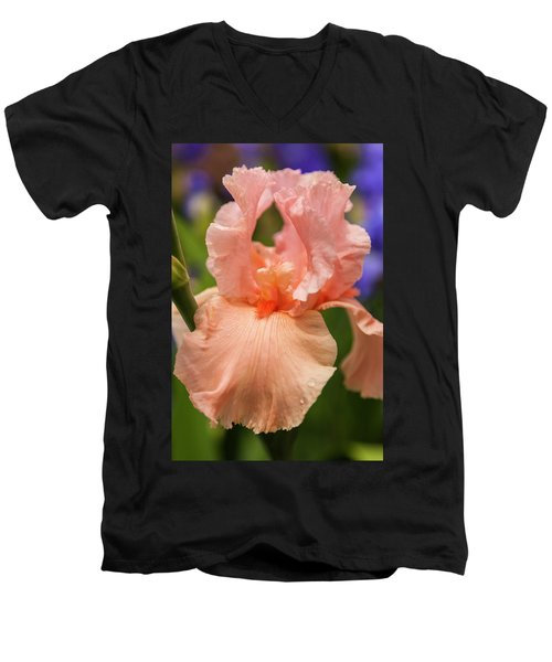 Beverly Sills Iris, 2 Men's V-Neck T-Shirt