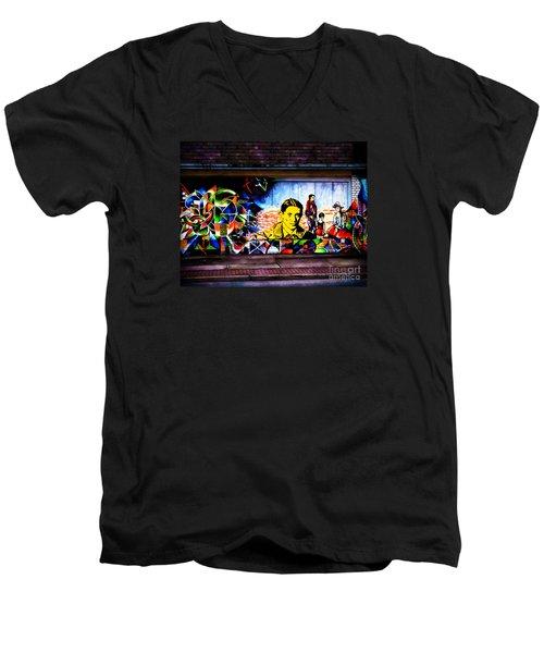 Beyond Graffiti Men's V-Neck T-Shirt