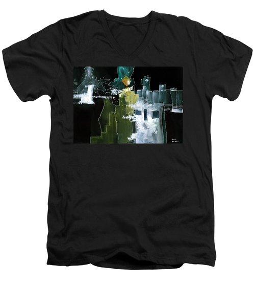 Beyond Horizons Men's V-Neck T-Shirt