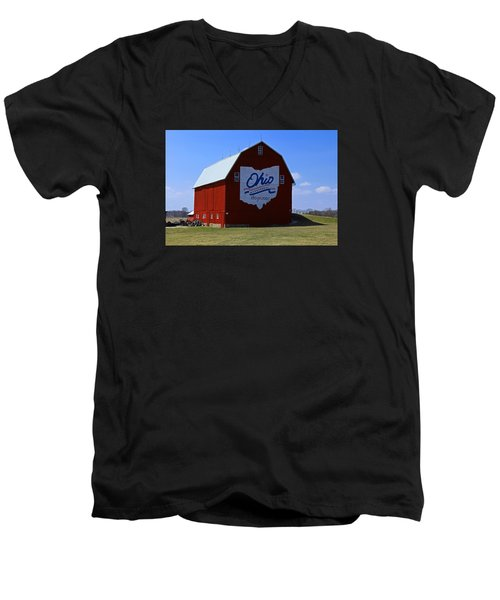 Bicentennial Barn  Men's V-Neck T-Shirt