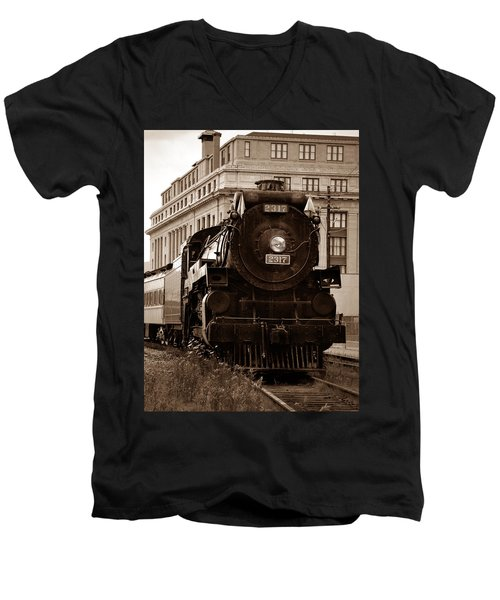Big Boy... Men's V-Neck T-Shirt