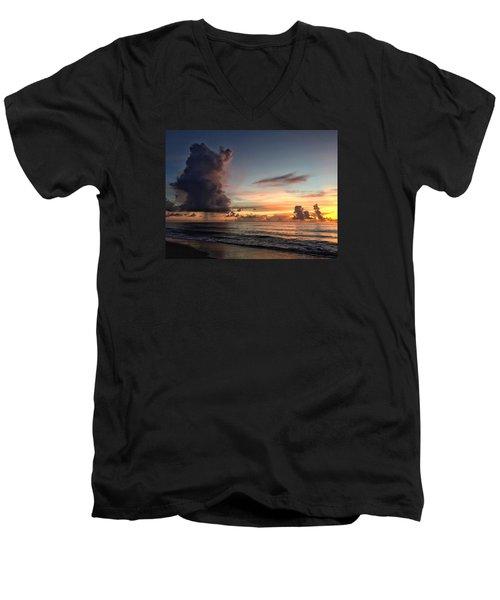 Big Cloud Men's V-Neck T-Shirt
