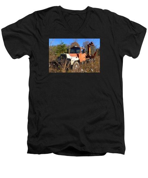 Big Mack Men's V-Neck T-Shirt