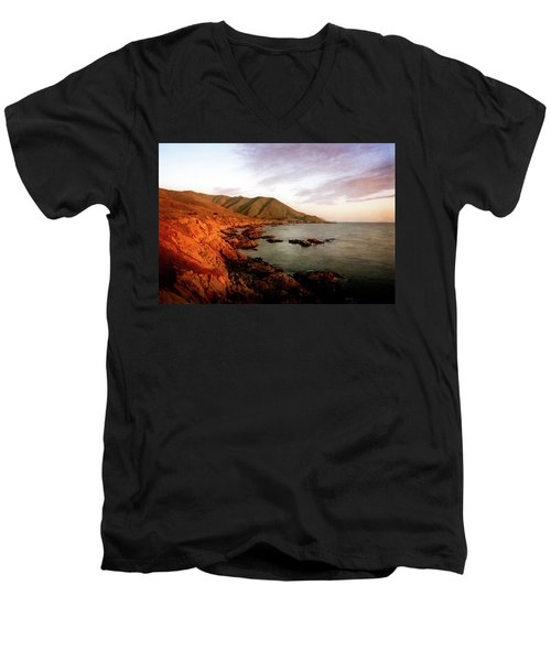 Big Sur Men's V-Neck T-Shirt