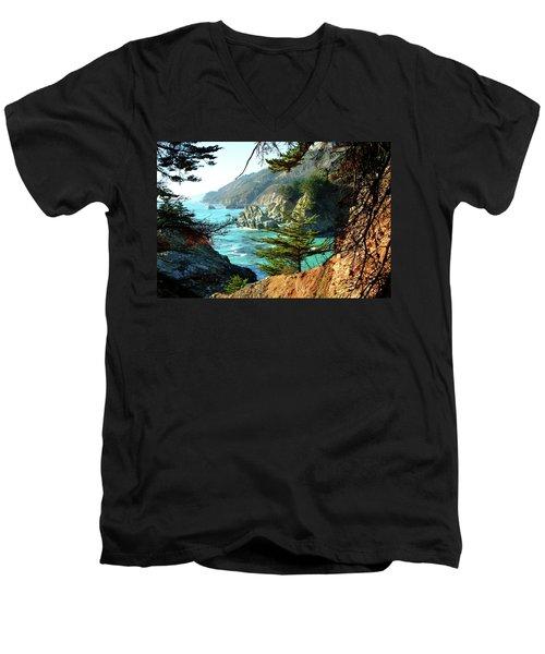 Big Sur Vista Men's V-Neck T-Shirt