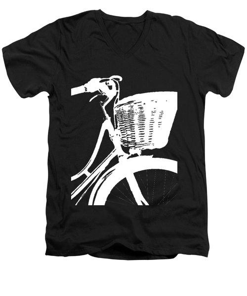 Bike Graphic Tee Men's V-Neck T-Shirt