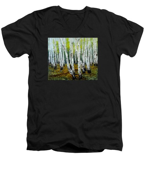 Birch Trail Men's V-Neck T-Shirt