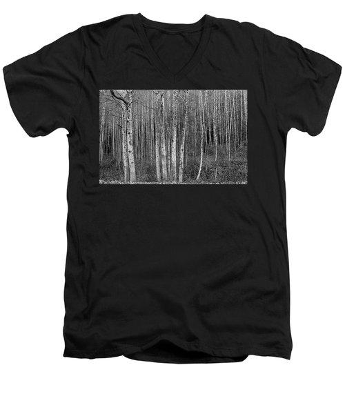 Birch Tress Men's V-Neck T-Shirt