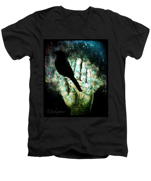 Bird In Hand Men's V-Neck T-Shirt
