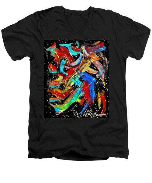 Birds Are Fish Men's V-Neck T-Shirt