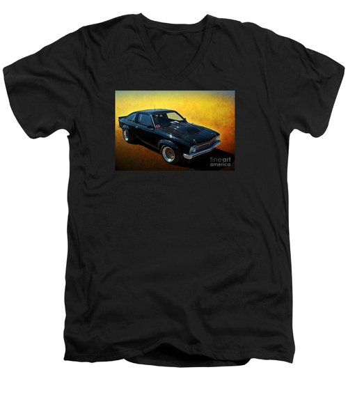Black A9x Men's V-Neck T-Shirt