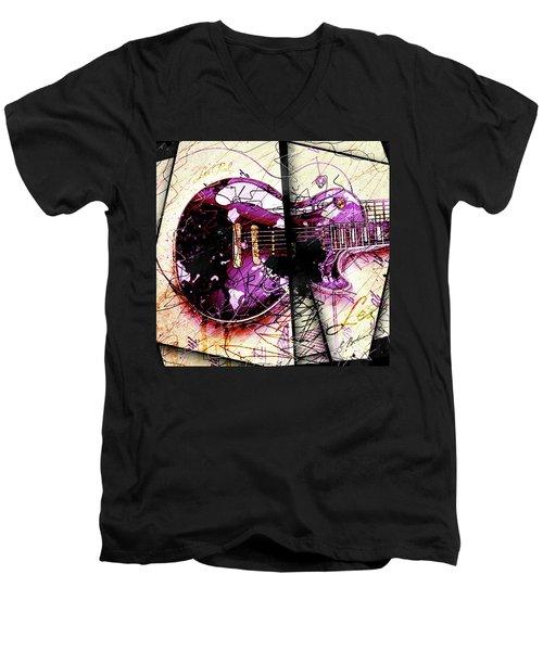 Black Beauty C 2  Men's V-Neck T-Shirt