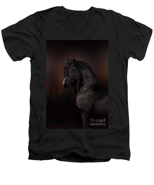 Black Dawn Men's V-Neck T-Shirt