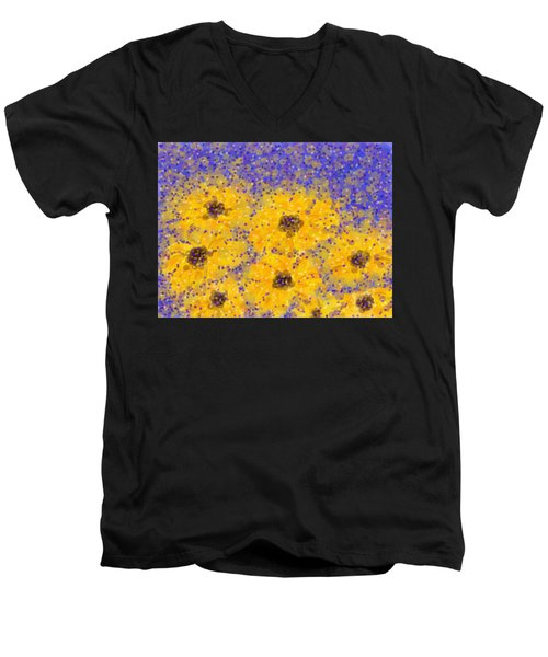 Black Eyed Susan Men's V-Neck T-Shirt