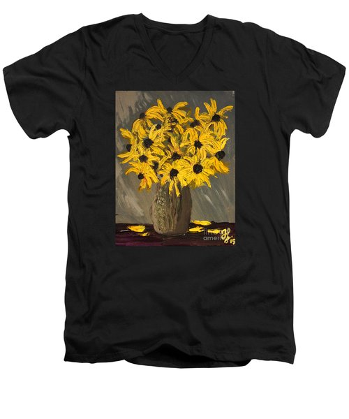 Black-eyed Susans Men's V-Neck T-Shirt