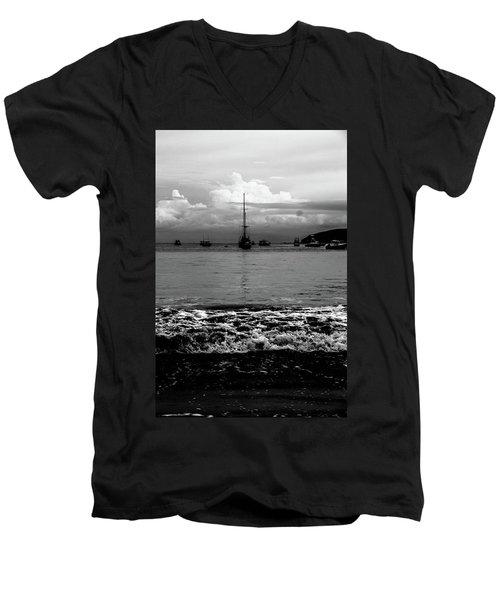 Black Sails Men's V-Neck T-Shirt