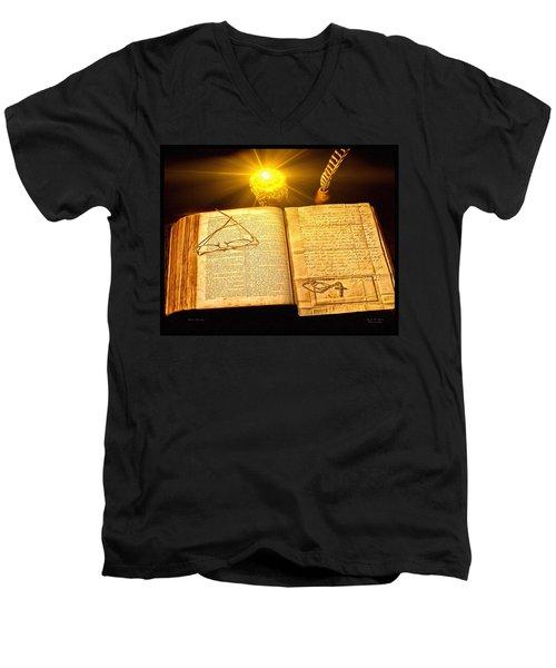 Black Sunday Men's V-Neck T-Shirt
