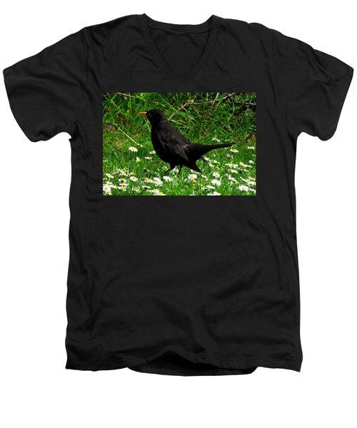 Blackbird Men's V-Neck T-Shirt