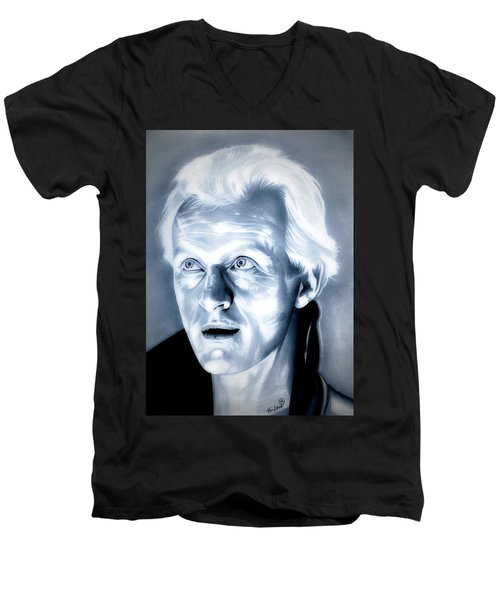Blade Runner Roy Batty Men's V-Neck T-Shirt by Fred Larucci