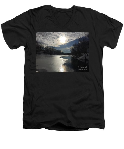 Blanket Of Clouds Men's V-Neck T-Shirt by Jason Nicholas