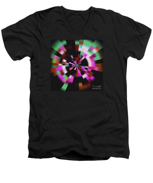 Blast Men's V-Neck T-Shirt by Kelly Awad