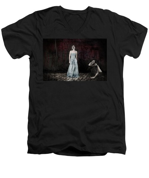 Blind Eye Men's V-Neck T-Shirt