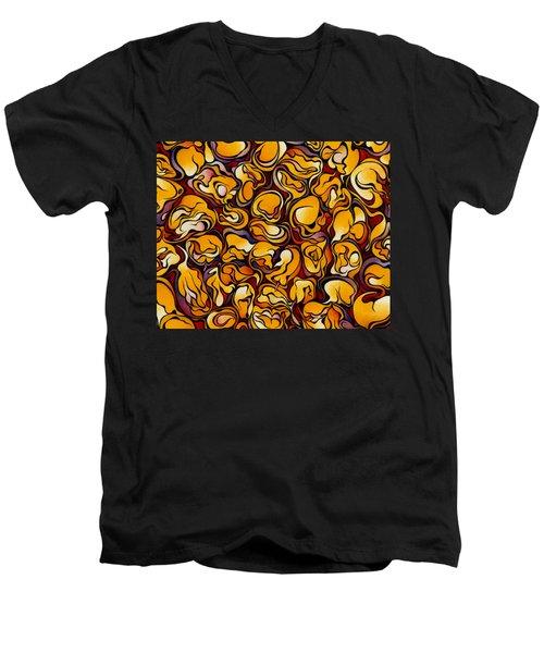 Blood Corn Men's V-Neck T-Shirt