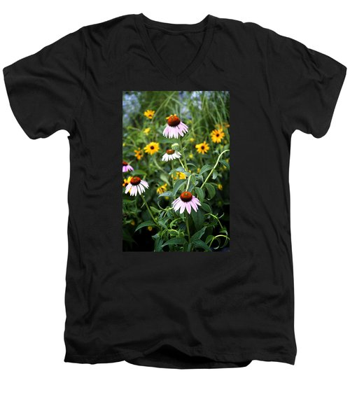 Blooms Men's V-Neck T-Shirt