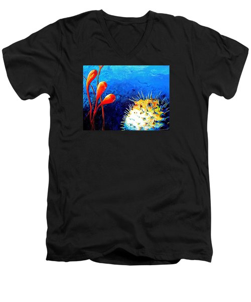 Blow Fish Men's V-Neck T-Shirt