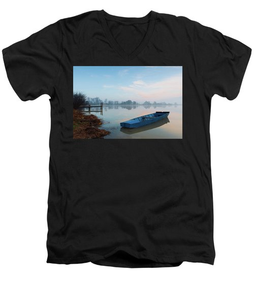 Blue Boat Men's V-Neck T-Shirt