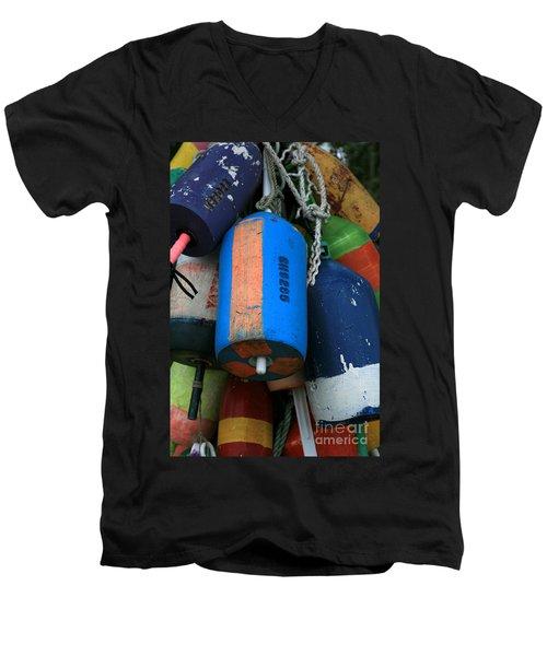 Blue Buoys Men's V-Neck T-Shirt