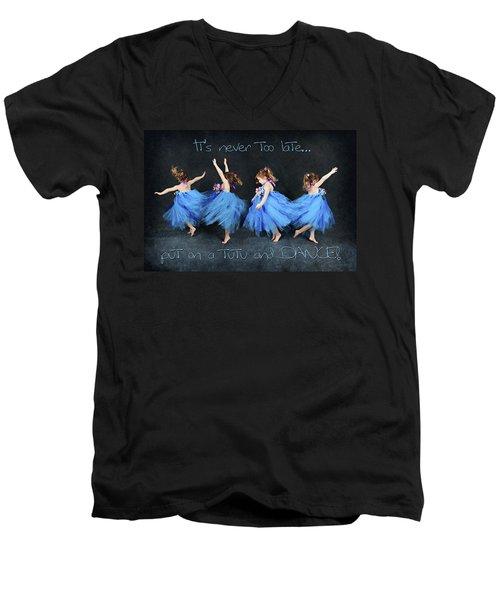 Blue Fairy Men's V-Neck T-Shirt