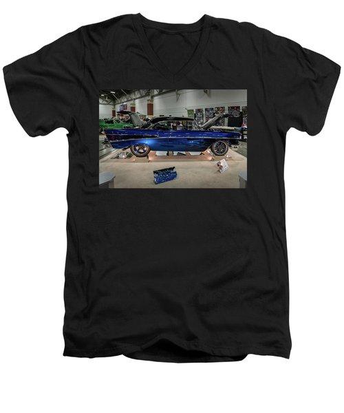Blue Heaven Men's V-Neck T-Shirt by Randy Scherkenbach