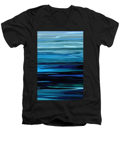 Blue Horrizon Men's V-Neck T-Shirt